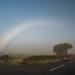 Fogbow   [Explored] (RonnieLMills) Tags: fog mist fogbow white rainbow