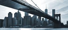 skyline (poludziber1) Tags: newyork ny nyc street streetphotography skyline building bridge blackwhite architecture abstract urban usa