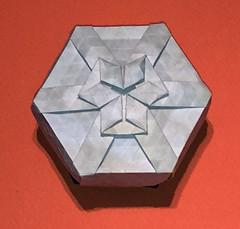 26-Rhombus twist galaxy (1 star) (mganans) Tags: origami tessellation box
