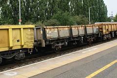 112093 Kettering 030917 (Dan86401) Tags: 112093 oca ocan bass dropsideopen wagon br fishkind fourwheeled freight ews db dbcargo engineers departmental infrastructure civilengineer kettering mml 7b02