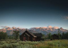 Chapel of the Transfiguration, Alpenglow 1 (waarondaniel) Tags: jackson hole wyoming grandteton nationalpark chapelofthetransfiguration grandtetons grandtetonnationalpark livetravelchannel travelpics filmphotography analog natureporn awesomeearthpix mountainlove natureperfection landscapecaptures unlimitedplanet ourplanetdaily planetdiscovery instanaturelover igmountains mountainaddict mountaingram tetons jacksonhole nikonphotography nikontop landscape mountainscape chapel church christianity culture nature natural