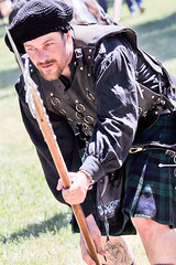 Scottish Halberdiers (GazerStudios) Tags: hats scottish kilts warriors battle livinghistory 55300mm nikond90 halberds celtic weapons beards yummy armor men black renaissance 15thcentury tattoos leather historicalreenactment crochet berets portraits