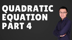 HOW TO SOLVE   QUADRATIC EQUATION [ PART 4] - IB A LEVEL IGCSE (Happymath _ Math Teacher) Tags: alevel alevelsubject algebra aslevel aa âa â calculus easymaths fastmath mathematician math mathematics maths mathquiz mathsonline mathproblemsolver mathsproject mathformulas mathsquestion mathforkids mathtutoronline mathtricks mathssolution mathworksheets mathwordproblems mathtest grade khanacademy khanacademymath khan learnmath prealgebra mentalmath 3rdgrademath 7thgrademath trigcalculator internationalschool triggraphs googlemath onlinemath discretemathematics geometricshapes geometryformulas trigonometryformulas