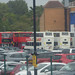 Day 3 of the 1st day / night Test - England v West Indies - Edgbaston Stadium - National Express West Midlands buses - route 501