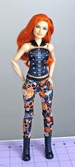 WWE Becky Lynch Fashion Doll (RequiemArt.com) Tags: wwe fashion doll becky lynch comparison photos mattel made move mtm barbie dc super hero girls wonder woman sdcc 2016 she ra shera exclusive foot