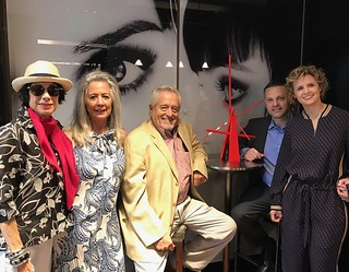 Artscape Lab curates Beaux Arts Hotel spaces: Erika King, Pamela and John Henry, Enrique Castillo and Georgina Chumaceiro, artscape founders.
