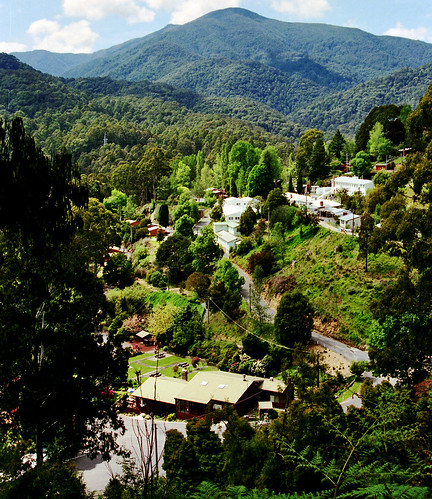 Oct 1995 - Scenic Bogong Village on the way to Falls Creek, Victoria, Australia