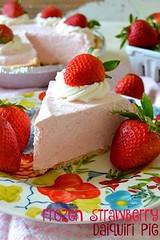 No-Bake Frozen Straw (alaridesign) Tags: nobake frozen strawberry daiquiri pie