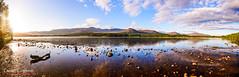 Loch Morlich (DC-Studio) Tags: panorama landscape manfrotto nikon nisi 1635 d610 loch morlich sunrise sky aviemore cairngorm mountains