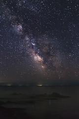 Milky Way over Issuk Kul lake (monorail_kz) Tags: stars milkyway night summer july 2017 cenrtalasia kyrgyzstan issykkul lake landscape