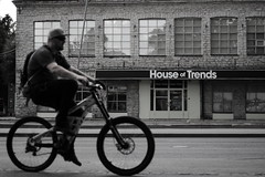 Trends (lfbarragan_19) Tags: bicycle blackandwhite kalamaja trends