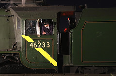46233 - Swanwick junction (Andrew Edkins) Tags: lms duchessofsutherland 46233 stanier driver crew timelineevents photoshoot pacific railwayphotography midlandrailwaycentre night people coronationclass geotagged canon steamtrain derbyshire uksteam england