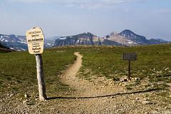 Hurricane Pass (isaac.borrego) Tags: uploadedviaflickrqcom mountain peak alpine alaskabasin grandteton nationalpark wyoming canonrebelt4i history jacksonhole mountains unitedstates america