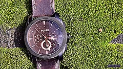 Time flies...Yes, Good time does......!! the problem is you think you have time _ life has no remote,get up and change it yourself. never quit ...move on (anGaru007) Tags: fossil watch time inspiration india kerala motivation nature