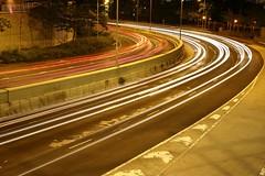 Highway (superzookeeper) Tags: favorites longexposure night canoneos5dmarkiv ef2470mmf28liiusm 5dmk4 5dmkiv hk hongkong eos digital shekkipmei lighttrail highway road curve lines lungcheungroad street