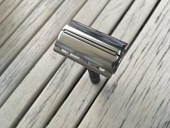 """Gillette Super Adjustable """"Black Beauty"""" safety razor - 1969"""