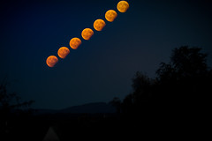 partial lunar eclipse (Christian ±π) Tags: monday lunar eclipse sky mondfinsternis