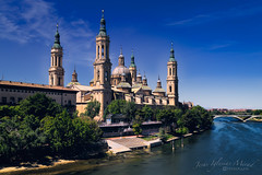 Ntra. Señora del Pilar (Jesús Iglesias Mirad) Tags: españa spain zaragoza monumento catedral