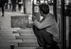 Homeless guy (Lorrainemorris) Tags: street citylights ireland dublin sad blackandwhite streetphotography homeless irish