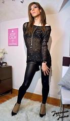 Sparkle & Shine (jessicajane9) Tags: tg crossdress transgender m2f crossdressing tgurl cd feminised lgbt crossdresser tgirl xdress trans tv