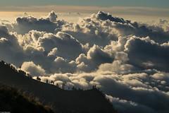 The sun kissed clouds (Vagabundina) Tags: sunset goldenhour sun sky clouds nature landscape scenery mountain rinjani lombok vista view volcano nationalpark indonesia nusatengarra southeastasia asia nikon nikond5300 dsrl