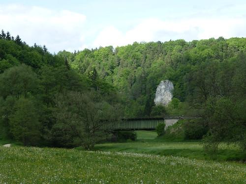 Bahnbrücke im Pegnitztal