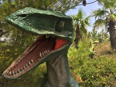 IMG_0311 (vxla) Tags: 2017 2010s vxla california travel summer september westcoast iphone losangeles cabazondinosaurs claudebellsdinosaurs riversidecounty dinosaur park palmsprings statue sculpture