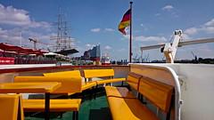 Hamburch Meine Perle (RadarO´Reilly) Tags: hamburg landungsbrücken capsandiego rickmerrickmers elbphilharmonie hafen harbour stpauli