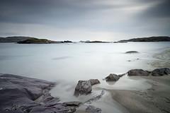 Derrynane Beach (annemcgr) Tags: derrynane kerry ireland beach rocks water sea clouds le longexposure fineartphotography annemcgrath