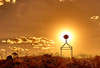 Golden Beacon (RobMacPhotography) Tags: canberra act australia sunset hill beacon golden sky clouds sillhouette sony a6000 urambi hills landscape dry grass kambah trigg point