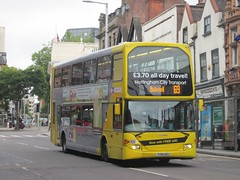 NCT 906 YT61GOJ Upper Parliament St, Nottingham on 69 (1280x960) (dearingbuspix) Tags: nottinghamcitytransport go2 yt61goj 906 6869 6869yellowline yellowline yellowline6869