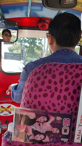 Chiang Mai, Thailand, taxi.