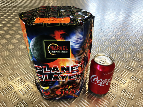 Planet Slayer 19 Shot CE Barrage #EpicFireworks