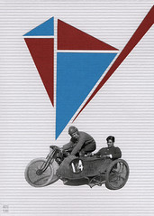 side piece (argyle plaids) Tags: collage collageart collageartist collageartwork collageonpaper handmade handmadeart handmadecollage handmadecard handmadecards sidecar motorcycle moto vintage art vintagecollage vintageart vintageartwork triangle triangles graphicart graphicartist collages paperart paperartist paperartwork cutpaperart cutpaper seattleartist analog analogue analogcollage graphicdesign graphicdesigner geometric artwork greetingcard greetingcards oneofakind cycle motosport cutandpaste vintagemotorcycle antique design paperdesign minimalart minimalist minimalism minimal minimalistart geometricart geometricartwork redwhiteandblue red blue whitebackground