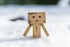 Danbo im Schnee (Dixde - Photography) Tags: schnee winter kalt weis danbo snow cold white januar january ilce7m2 zeiss canon canonef50mmf18stm adaptiert sony sonyalpha7ii wannweil deutschland germany badenwürttemberg reutlingen