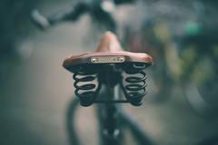 brooks no. 1 (christian mu) Tags: bike bikesaddle münster architecture bokeh muenster germany christianmu sonya7ii planar planar5014 sony 50mm 5014 brooks sattel fahrradsattel fahrrad dof depthoffield zeiss