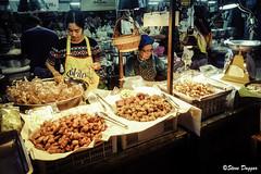 DSCF4393 (Steve Daggar) Tags: chiangmai thailand travel buddhist monk markets street candid asia