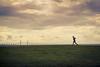 Oresund (Pensiero) Tags: oresund oresundbridge runner jogging sky bridge cielo clouds nuvole skyline malmoe malmo horizon ponte orizzonte