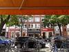 """Blick zum Früstücksraum """"Hotel Leonardo"""" (Carl-Ernst Stahnke) Tags: berlin chalottenburg geschäfte essen trinken leonardo hotel frühstück platanen"""