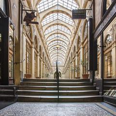Galerie Vivienne (Paris) (cl_p) Tags: paris patrimoine architecture passage galerie verrière enseigne escalier vitrine mosaïque librairie