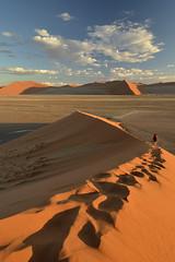 Dune 45, Namibia (clasch) Tags: africa nikkor nikon d7000 landscape nature dune desert sand orange view sesriem sossusvlei national park 1224 namibia 45 namib naukluft blue