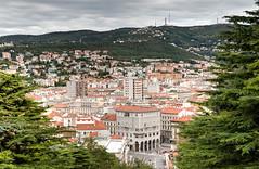 Trieste from Castello di San Giusto (CdL Creative) Tags: 70d canon castellodisangiusto cdlcreative eos hdr italia italy saintjustus trieste castle geo:lat=456473 geo:lon=137740 geotagged friuliveneziagiulia it