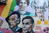Canal Street, Manchester, UK (email@allenreavie.com) Tags: mural alan turing lily savage canal st street manchester gay quentin crisp quintin celebrities gable wall graffitti village quarter