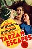 Tarzan Escapes (1936, USA) - 01 (kocojim) Tags: maureenosullivan illustrated kocojim poster johnnyweissmuller publishing advertising film illustration motionpicture movieposter movie
