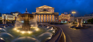Grand   Bolshoi Theatre, Moscow, Russia