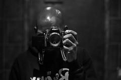b a w l d (Brother Christopher) Tags: bald baldhead mirror selfie selfportrait portrait photo photographer explore explored indoor lowlight shine bnw blackandwhite brotherchris studio bathroom thebronx canon 50mm melanin