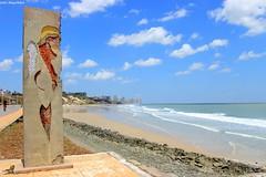Anjo litorâneo (Julio Magalhaes) Tags: praia beach mar sea céu céulimpo sãoluís maranhão sky blue
