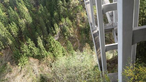 Echelsbach Bridge, 1929, crossing the 76m deep Ammer Gorge, Rottenbuch