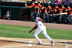 BASE HIT (MIKECNY) Tags: baseball hit hitter run nypennleague tricityvalleycats astros minorleague