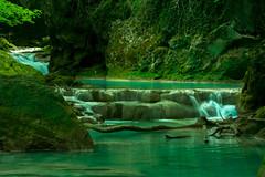 Urederra river (abdiefff) Tags: river mountain beauty nature waterfall green rio urederra nacedero magic place landscape longexposition